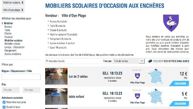 Enchères La Oye Tatamis Ville Plage Et De Vend Bureaux Aux Des HW2E9DI