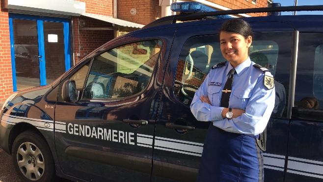 Une dunkerquoise la t te de la compagnie de gendarmerie d 39 ecuires - Gendarmerie salon de provence ...