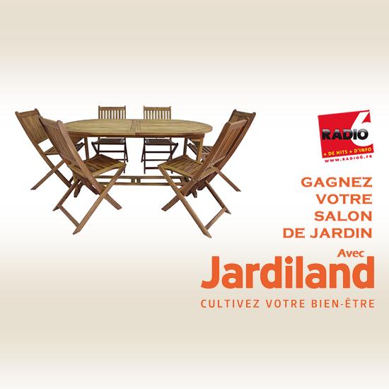Gagnez votre salon de jardin avec Jardiland à Calais