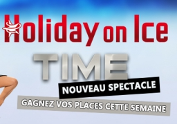 GAGNEZ VOS INVITATIONS POUR HOLLIDAY ON ICE A AMIENS