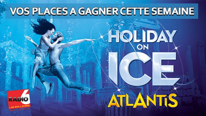Gagnez vos invitations pour Holiday On Ice à Lille
