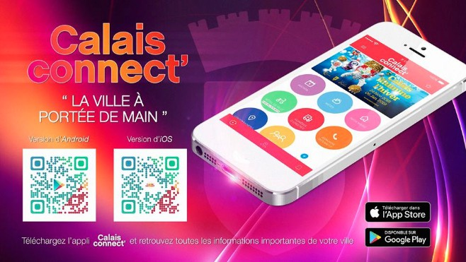 Calais Connect' : la nouvelle application de la ville de Calais