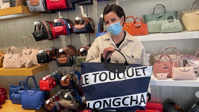 Le Touquet a son pliage Longchamp et ça cartonne!