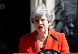 BREXIT : Theresa May annonce sa démission