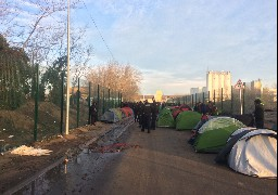 Nouvelle évacuation d'un camp de migrants à Calais